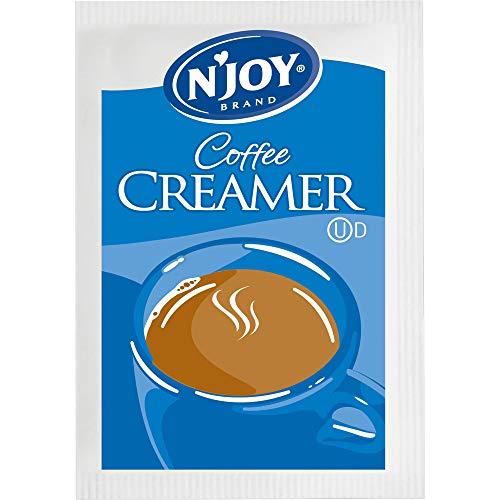 N'Joy Non-Dairy Creamer | 2g Packets, 1000 Count | Single Serve Portion | Bulk Size