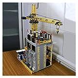 XXFFD 3716PCS Vistas de la Calle Ladrillos Publillas cuadradas Oficina Modular Ladrillos Creador Experto Moc Ladrillos Bloques de construcción Ladrillos Juguetes (Color : Construction Site)