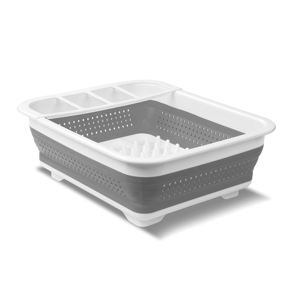 madesmart EMW6337273 Collapsible Dish White