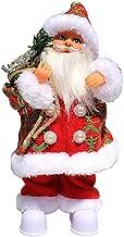 NC Boneca de Pelúcia Elétrica Do Papai Noel Decoração de Festa de Natal - Roupas vermelhas do papai noel