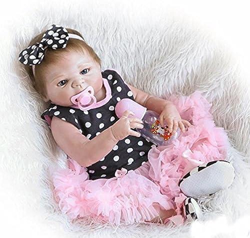 LIJUN Simulation Baby Puppe Wiedergeburt Puppe 5cm Silikon Kinder Spielzeug mädchen,5cm