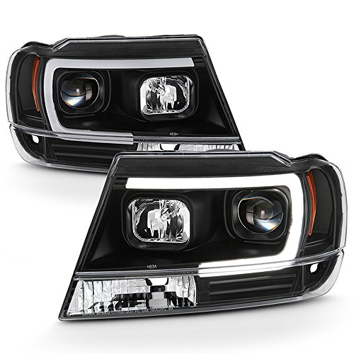 01 jeep grand cherokee headlights - 9