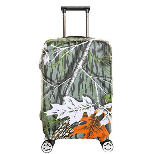YiJee Covers Kofferschutzhülle Mit Trendigen Drucken Abdeckung Wie Das Bild 3 S