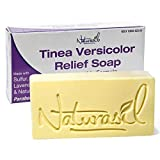 Naturasil Homeopathic Remedies Tinea Versicolor 10% Sulfur Soap - 4 Ounce Bar