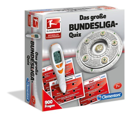 Clementoni 69203.3 - Das große Bundesliga-Quiz