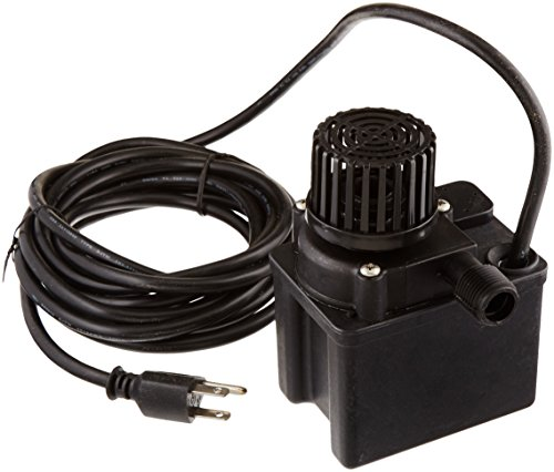 Little Giant 566612 475 GPH Direct Drive Pond Pump, Submersible Pump, 80 watts,Black