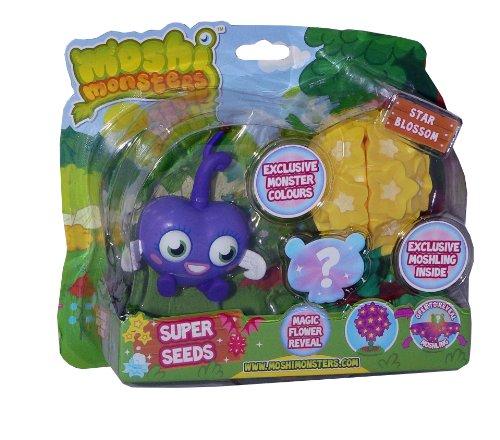 Moshi Monsters – Super Seeds – Luvli + Moshling Surprise – Figurines 10cm + Aléatoire (Import UK)