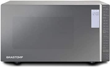 Micro-ondas Brastemp 32 Litros cor Inox Espelhado com Grill e Painel Integrado - 110V