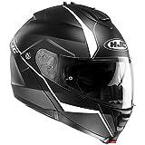 HJC is-Max 2mina Casques modulables) casco de moto negro Color blanco M (57–58cm)