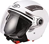 BHR 93315 Casco, Color Blanco, Talla 55-56