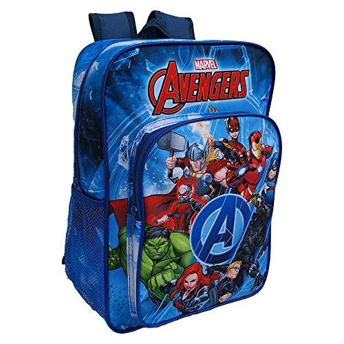 CARTOON GROUP Zaino Asilo Avengers Marvel Tasca Frontale Scuola Bambino CM.36 - AV30003