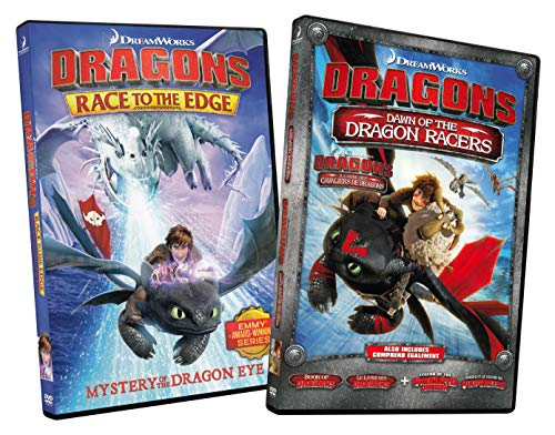 Dragons Race to the Edge: Mystery Of The Dragon Eye / Dragons Dawn of the Dragon Racers (2 Pack)