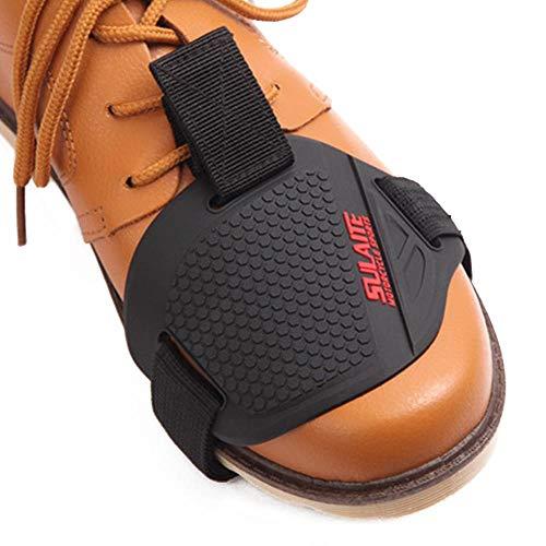Motorrad Stiefel Schaltverstärkung Schuhschutz Abdeckung, TPU-Gummi Motorrad Schuhschutz Stiefel Abdeckung Gangschaltung Pad Schalthebel-Schuhschutz Motorrad Stiefel Schutz Pad (A)