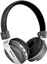 Wsaman Bluetooth Headphones Over Ear, Wireless Bluetooth Earphones Earbuds Headset with Deep Bass Adjustable with Mic Nois...
