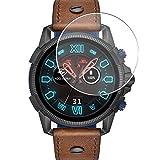 Vaxson 3-Pack Vetro Temperato Pellicola Protettiva, compatibile con DIESEL ON Full Guard 2.5 smartwatch Case Size:47mm, 9H Screen Protector Film