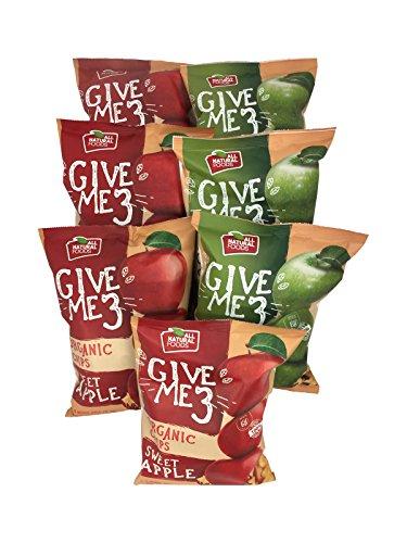 オーガニック ドライアップル チップ 有機 赤りんご1袋40gx4袋 青りんご1袋40gx3袋 合計7袋入り