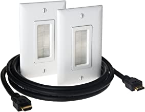 Legrand - On-Q HDMI In-Wall Connection Kit, HT2000WHV1