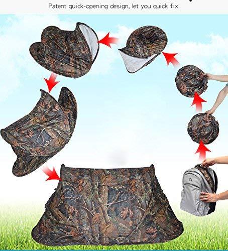 Automatische Pop-Up tragbar outdoor Schnell-auf-Zelt Instant, wasserdicht Belüftung für Camping, Wandern, Angeln, over-night Trips, camouflage