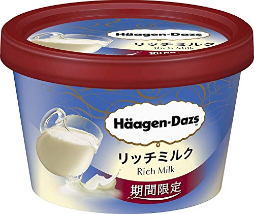 【ハーゲンダッツアイスクリーム】ミニカップ リッチミルク 110ml×6個