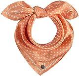 FRAAS Halstuch Damen gepunktet - 53 x 53 cm Größe - Nickituch Seide - Seidentuch für Damen mit Polka Dots Muster - Bandana Tuch perfekt für den Sommer Alabaster