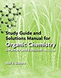 Study Guide/Solutions Manual for Organic Chemistry...