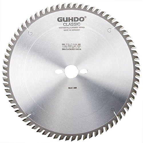 Guhdo HW Schnitt zu Kreissägeblatt 315x 3, 4| Loch 2,2x 30mm Z28W–Made in Germany