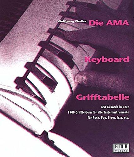 Die AMA-Keyboard-Grifftabelle: 468 Akkorde in über 1700 Griffbildern für alle Tasteninstrumente für Rock, Pop, Blues, Jazz, etc