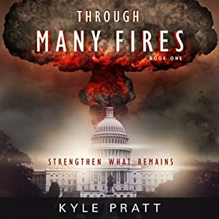 Through Many Fires audiobook cover art