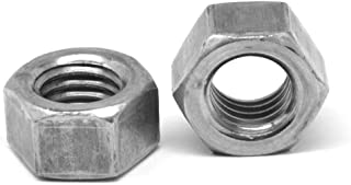 22 mm Width Across Flats Zinc Plated Finish Metric 11 mm Thick M14-2 Thread Size Pack of 50 Class 8 Steel Hex Nut DIN 934