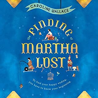 The Finding of Martha Lost audiobook cover art