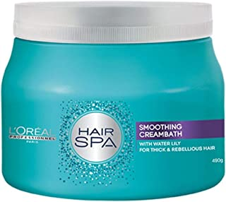 L'Oreal Paris Hair Spa Smoothing Cream Bath-490 Gm