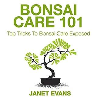 Bonsai Care 101 audiobook cover art