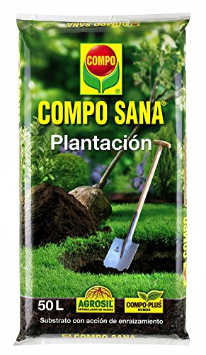 Compo Substratos y turbas Sana plantación, 50 l