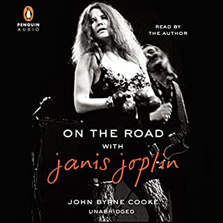 On the Road with Janis Joplin audiobook cover art