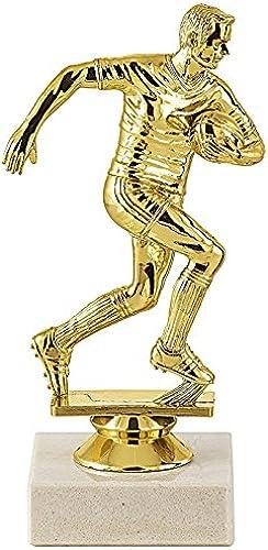 Trophée Sportif TROPHEE Sujet Plastique Or Rugby - Lot de 10