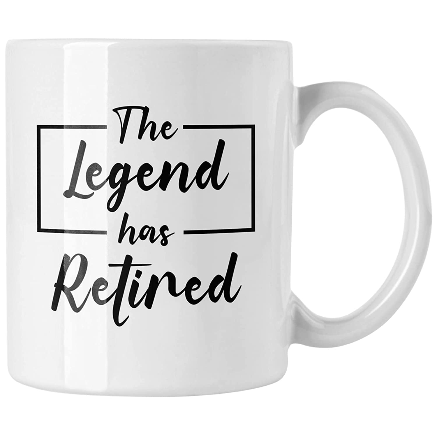 Retirement Gifts Oakland Mall for Women Men The safety Legend Retired Mu Coffee Has