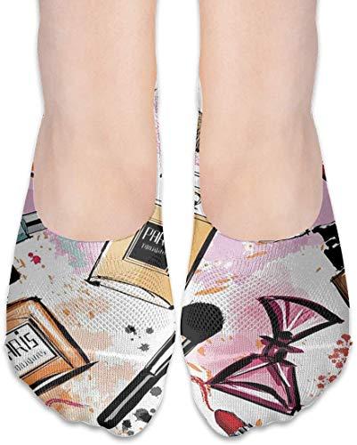 not applicable No Show Socken, Kosmetik Parfüm Lippenstift beiläufige unsichtbare Flache Socken,...