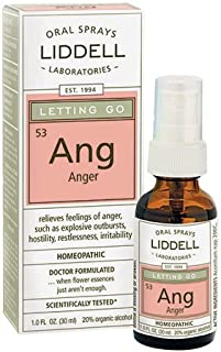 Liddell Homeopathic Letting Spray, Go Anger, 1 Fluid Ounce