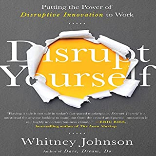 Disrupt Yourself audiobook cover art