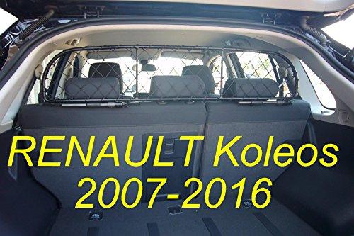 ERGOTECH Trennnetz Trenngitter Hundenetz Hundegitter für Renault Koleos