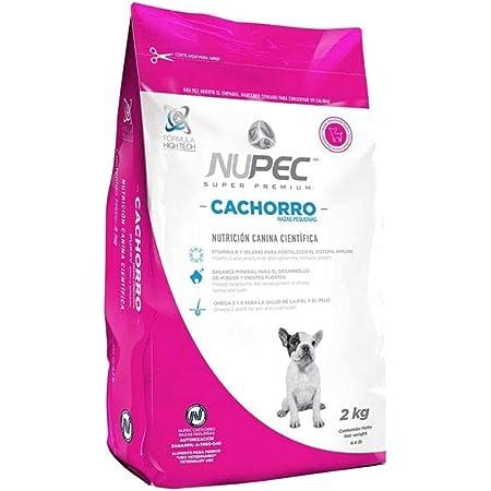 Nupec croquetas para Perros, Cachorros Razas pequeñas, con Vitamina E y Selenio, presentación de 8 kg.