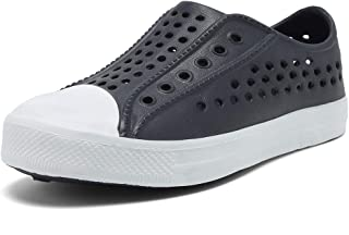 Kids Water Shoes Slip-On Sneaker Lightweight Breathable Sandal Outdoor & Indoor-U819STLXS001-04-Grey-29