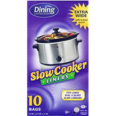 Crock Pot Liners 13  X 21  X 4  Fits All Crock Pots and Slow Cookers Extra Large