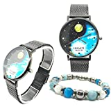 Yin Yang Outfit Made in Italy Orologio EREMITI Watch Sunset Collection Bracciale Flag Collection...