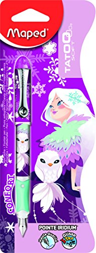 Maped Tatoo m220027 – Pluma estilográfica (Kids, Princess, rellenable, 1 pieza