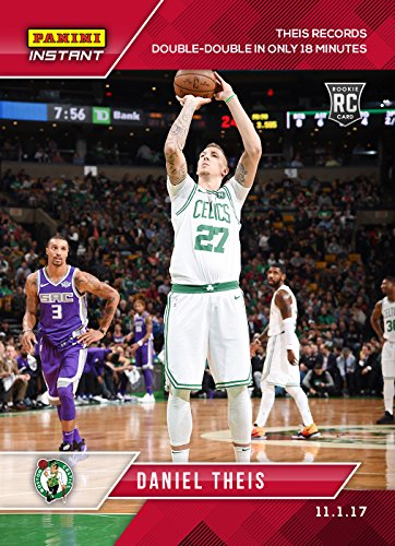 2017-18 Panini Instant NBA Basketball #26 Daniel Theis Rookie Card Boston Celtics - Only 84 made!
