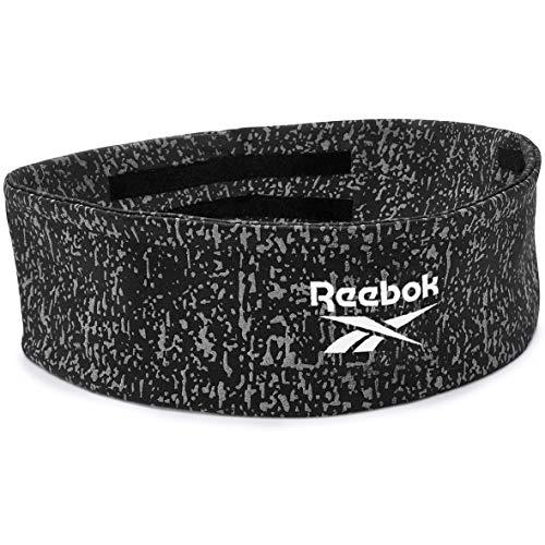 Reebok Unisex-Adult Head Band, Schwarz, Grau, Rot, Einheitsgröße