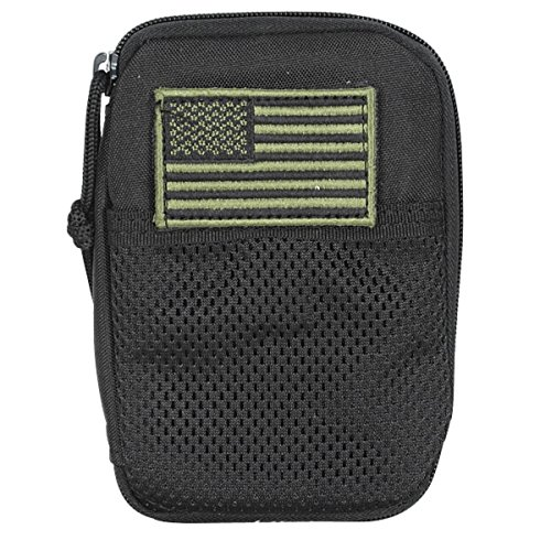 Voodoo Tactical Molle Compatible BDU Wallet Black