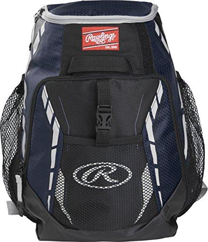 Rawlings Bolsas de béisbol unisex para equipos, multicolor, talla única, Unisex, Equipos de béisbol mochilas, R400-N, multicolor, Talla única