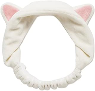 Bullidea 1pc Girls Women Cute Cat Ears Headband Hair Head Band House Beauty Tools Elastic Sport Headwraps Makeup Yoga Headband